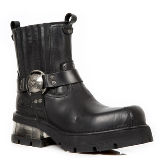 leather boots women's - PLANING NEGRO NEW M3 ACERO - NEW ROCK, NEW ROCK