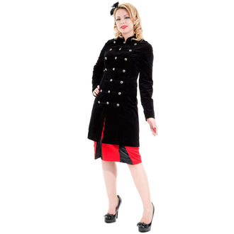 coat women's spring/fall HEARTS AND ROSES - Cyber Rave, HEARTS AND ROSES