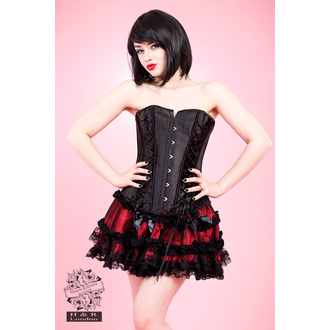 corset women's HEARTS AND ROSES - Black Lace - 2106b