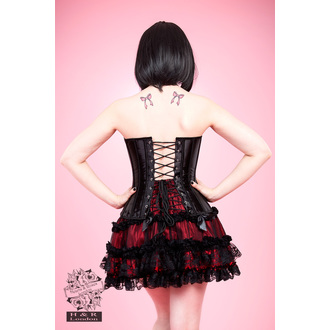 corset women's HEARTS AND ROSES - Black Lace, HEARTS AND ROSES