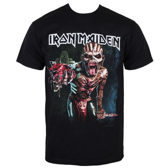 t-shirt metal men's Iron Maiden - Book of souls Euro Tour 2016 - ROCK OFF - IMTEE50MB