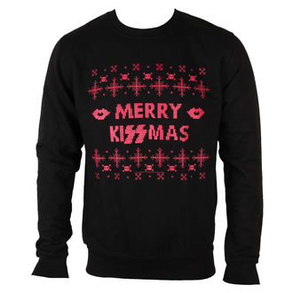 sweatshirt (no hood) men's Kiss - Merry Kissmas - PLASTIC HEAD, PLASTIC HEAD, Kiss