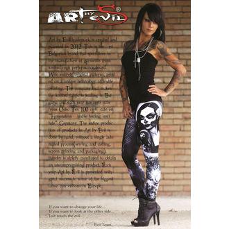 pants women (leggings) ART BY EVIL - Lust - ABE001