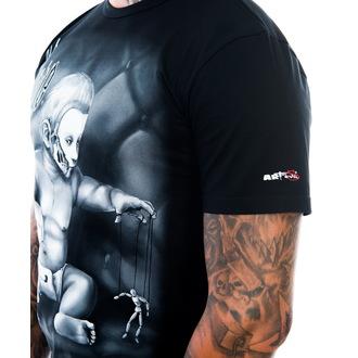 t-shirt men's - Alone - ART BY EVIL, ART BY EVIL