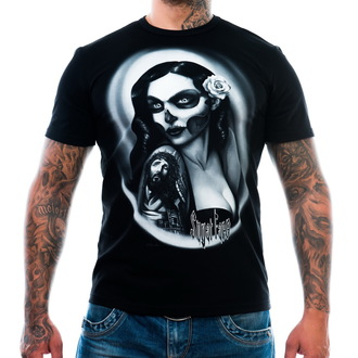 t-shirt men's - Sugar Face - ART BY EVIL - ABE005