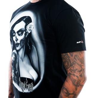 t-shirt men's - Sugar Face - ART BY EVIL, ART BY EVIL