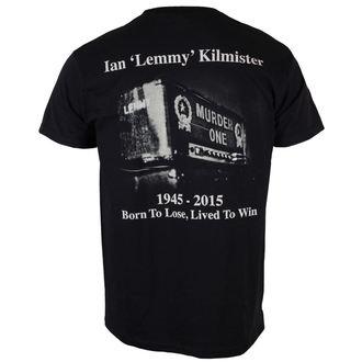 t-shirt metal men's Motörhead - Lemmy Lived To Win - ROCK OFF, ROCK OFF, Motörhead
