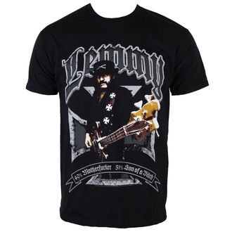 t-shirt metal men's Motörhead - Lemmy Iron Cross 49 Percent - ROCK OFF - LEMTS01MB