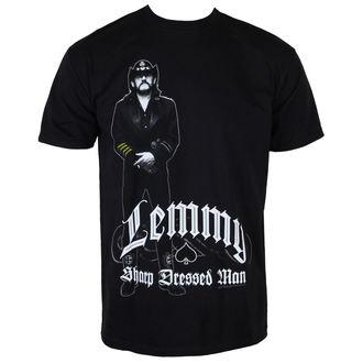 Metal T-Shirt men's Motörhead - Lemmy Sharp Dressed - ROCK OFF - LEMTS02MB