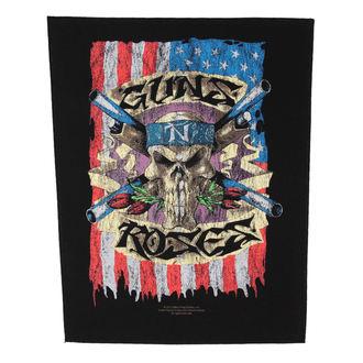 patch large Guns n Roses - Flag - RAZAMATAZ, RAZAMATAZ, Guns N' Roses