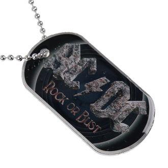 collar (dog tag) AC / DC - Rock Or Bust - RAZAMATAZ, RAZAMATAZ, AC-DC