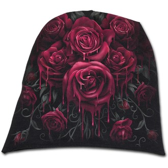 beanie SPIRAL - Blood Rose - K018A801