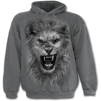 hoodie men's - Tribal Lion - SPIRAL