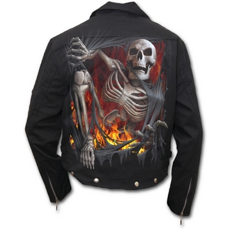 spring/fall jacket men's - Death Re-Ripped - SPIRAL, SPIRAL