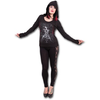 hoodie women's - Day Of The Goth - SPIRAL - D066F267