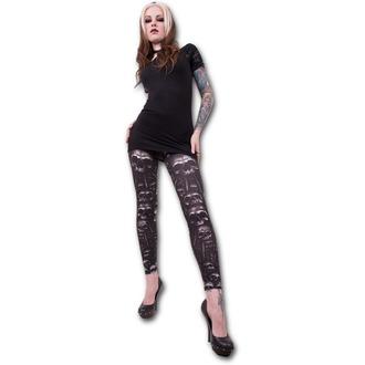 pants women (leggings) SPIRAL - catacomb - T111G456