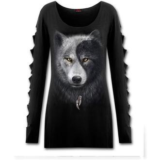 t-shirt women's - Wolf Chi - SPIRAL - T118F454