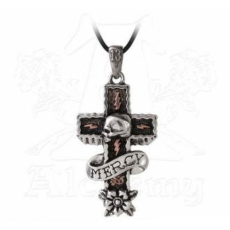 necklace ALCHEMY GOTHIC - Mercy Cross - ULP45