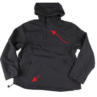 jacket men spring/autumn BRANDIT - Windbreaker Anthracite - DAMAGED - N461