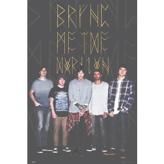 poster Bring Me The Horizon - Group Black, GB posters, Bring Me The Horizon