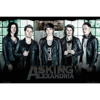 poster Asking Alexandria - Window - GB posters, GB posters, Asking Alexandria