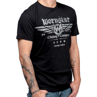 t-shirt hardcore men's - Machine Shop - WORNSTAR - WSUS-MACS