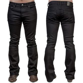 pants men (jeans) WORNSTAR - Hellraiser - Black - WSP02HRK