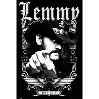 poster Lemmy - Dates - GB posters, GB posters, Motörhead