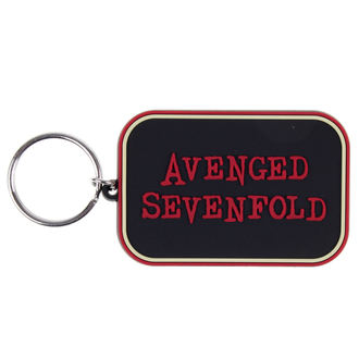 key ring (pendant) Avenged Sevenfold - Logo - Bravado, BRAVADO, Avenged Sevenfold