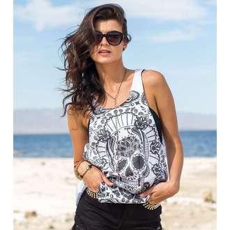 top women METAL MULISHA - Adventurous - WHT_SP6723004.01