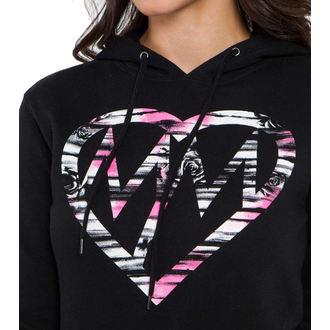 hoodie women's - ACTION - METAL MULISHA - BLK_SP6721000.01