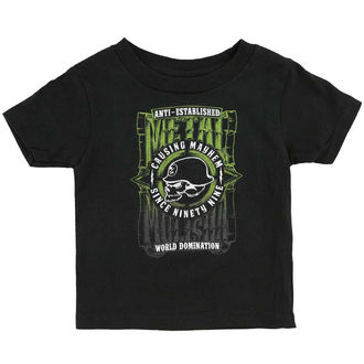 t-shirt street children's - WEST - METAL MULISHA, METAL MULISHA