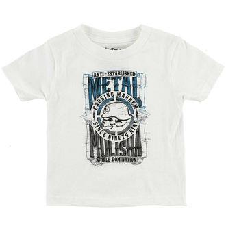 t-shirt street children's - WEST - METAL MULISHA, METAL MULISHA