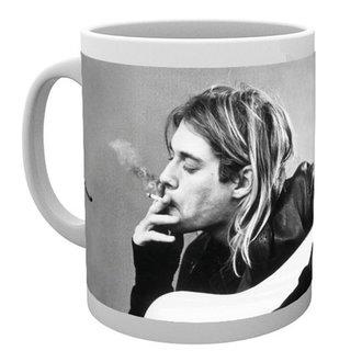 cup Kurt Cobain - Smoking - GB posters, GB posters, Nirvana