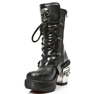 high heels women's - VINTAGE FLOWER NEGRO - NEW ROCK, NEW ROCK