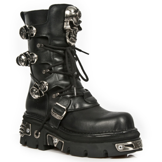 leather boots women's - REACTOR NEGRO E14 ORIF Y - NEW ROCK, NEW ROCK