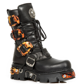 leather boots women's - ITALI Y NOMADA NEGRO - NEW ROCK, NEW ROCK