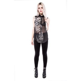 shirt women's IRON FIST - Wishbone - Black, IRON FIST