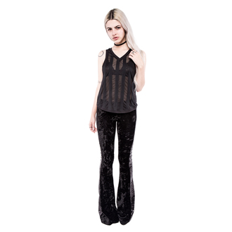 pants women IRON FIST - Janis - Black - LIC004045