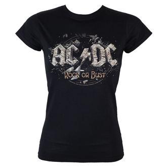t-shirt metal women's AC-DC - - LOW FREQUENCY, LOW FREQUENCY, AC-DC