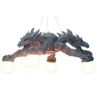 lamp Dragon - 766-9004