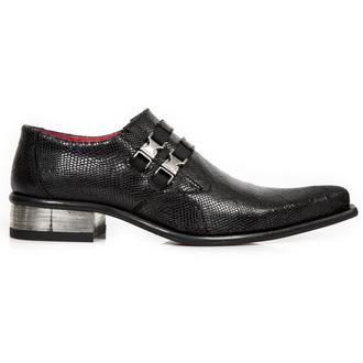 leather boots women's - PITONE NEGRO, CUEROLITE TACON - NEW ROCK, NEW ROCK