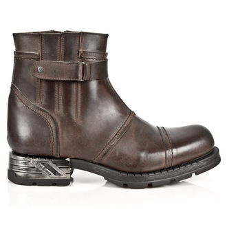 leather boots men's - ALASKA CAMEL MOTOROCK - NEW ROCK, NEW ROCK