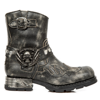leather boots men's - - NEW ROCK, NEW ROCK