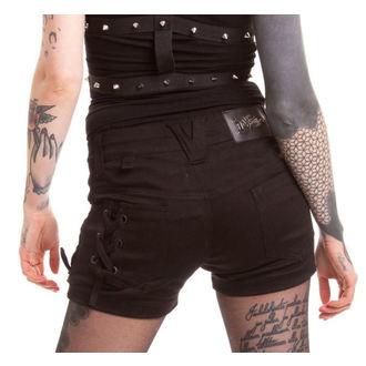 shorts women VIXXSIN - Burnout - Black - POI046