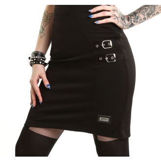 skirt women's VIXXSIN - Norma - Black, VIXXSIN