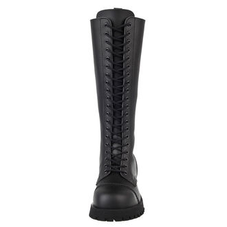 boots NEVERMIND - 20 eyelet - Black Synthetic