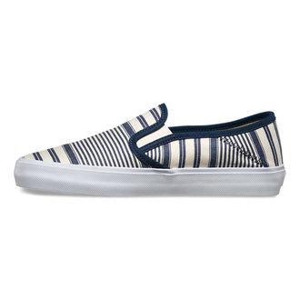 low sneakers women's - Slip-On (Multi Stripe) - VANS, VANS