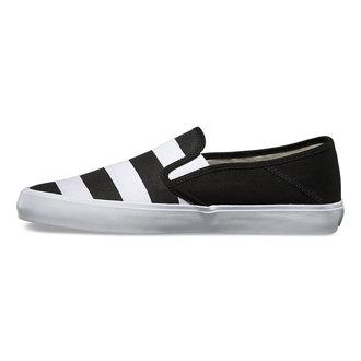 low sneakers men's - Slip-On (Stripes) - VANS, VANS