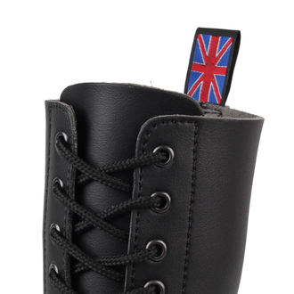 leather boots - NEVERMIND - 10114S_SyntheticBlack